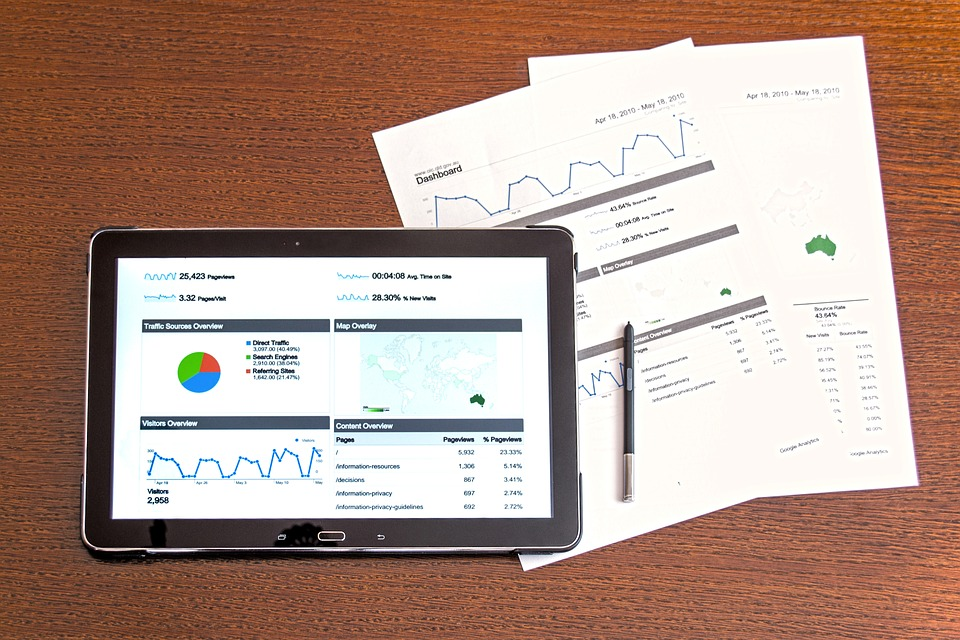 PostImage Optimal Visibility and Convenience to Digital Dashboards tablet with accounting tables and reports on table top view - What ICT Companies Don't Want You to Know About Casino Accounting Systems