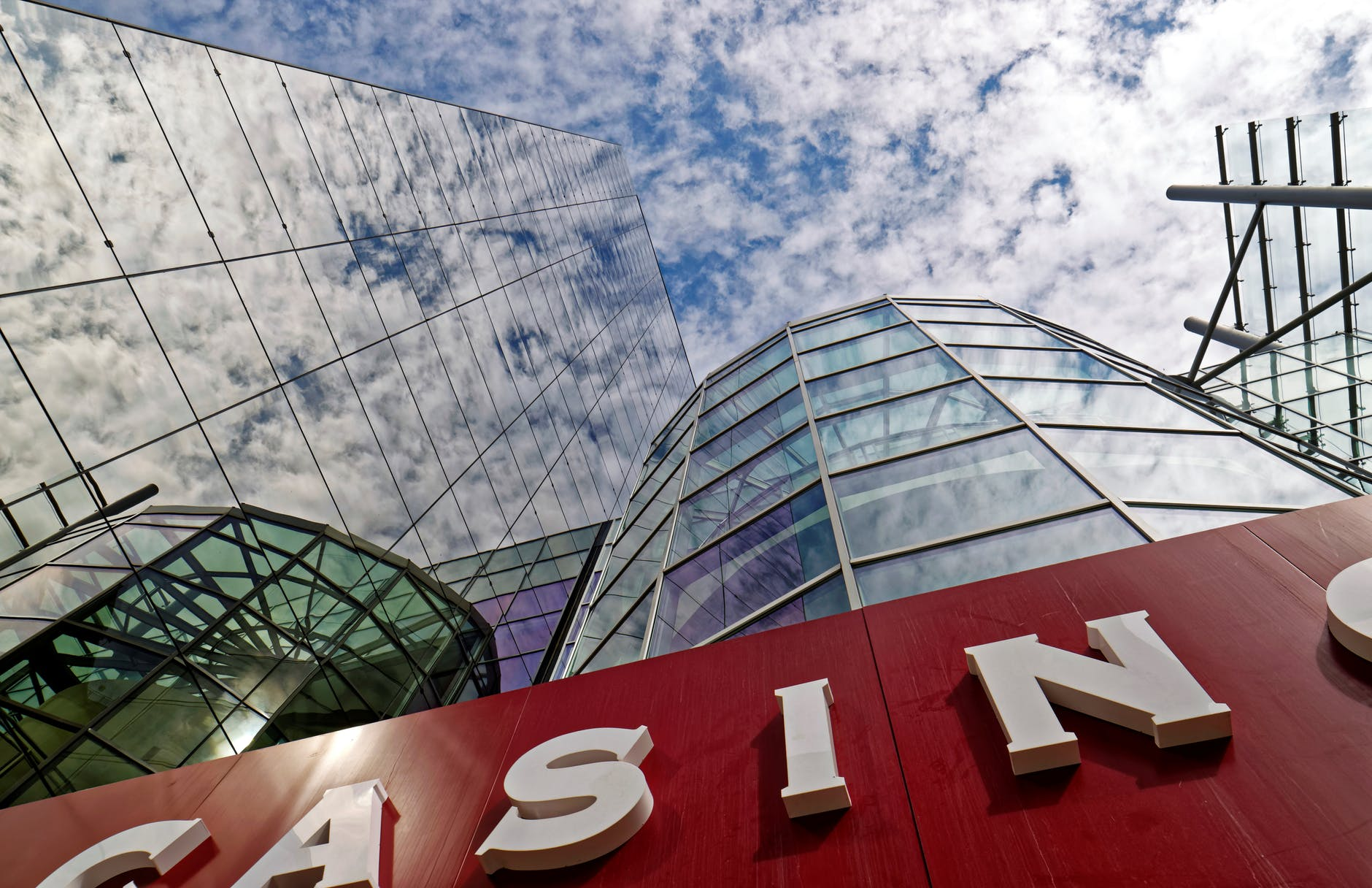 PostImage Make a name for yourself casino building looking up angle view - 3 Reasons Why Gambling Industry Managers Should Attend Casino Gaming Events